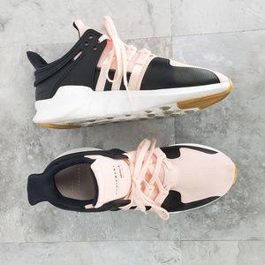 adidas x EQT Pink Black Ortholite Sneaker Sz 7